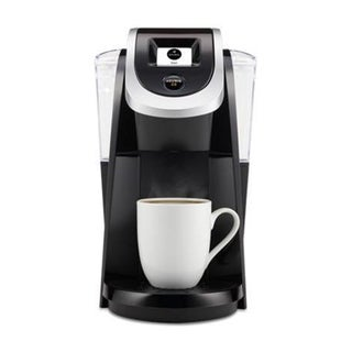 Refurbished Keurig Single Serve Coffee Maker K-Cups Black/Stainless Steel -K20200