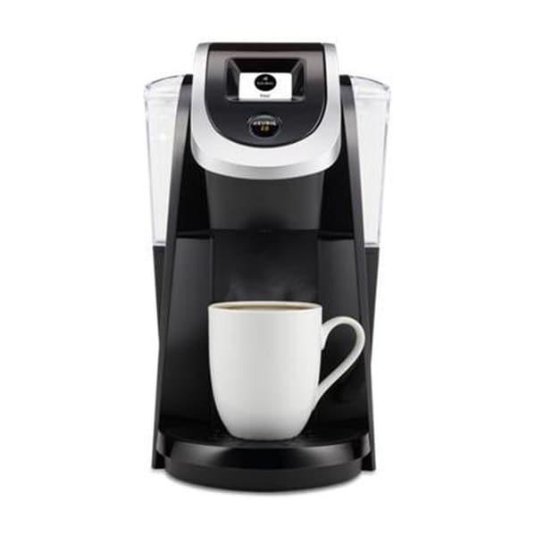Refurbished Keurig Single Serve Coffee Maker K-Cups Black/Stainless Steel -K20200