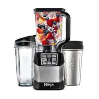 Refurbished Ninja 1200 WATTS Blender BLACK/SILVER-BL490