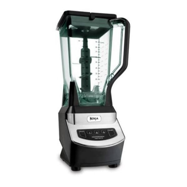 Refurbished Ninja 900 WATTS Professioanl Blender BLACK/SILVER-NJ600WM