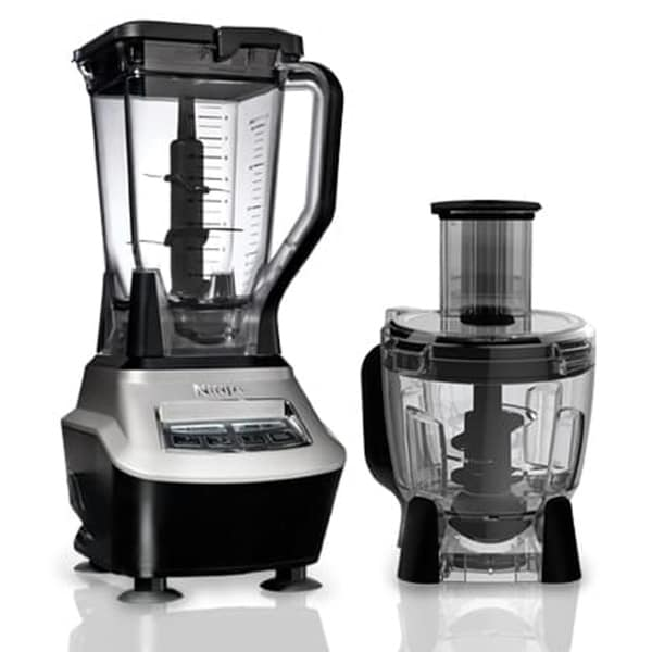 Refurbished Ninja 1500 WATTS Mega Kitchen Powerful Blender BLACK/SILVER-BL773CO