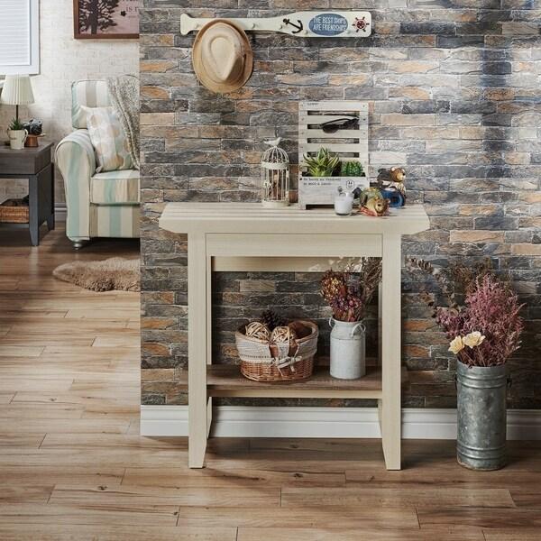 Shop Furniture Of America Sernima Rustic Natural Finish