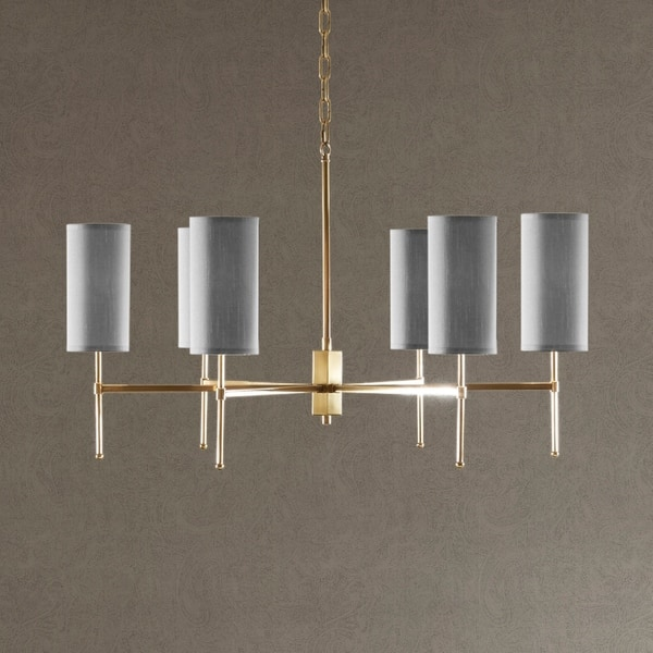 Madison Park Signature Conrad Grey Gold Metal