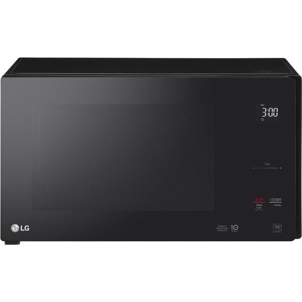 Lg Lmc1575sb Neochef 1 5 Cu Ft Countertop Microwave In Smooth Black
