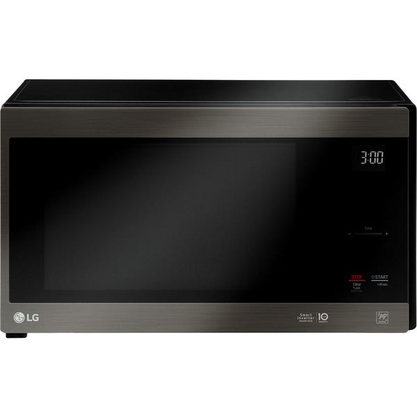 Lg Lmc1575bd Neochef 1 5 Cu Ft Countertop Microwave In Black Stainless Steel