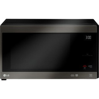 LG LMC1575BD NeoChef 1.5 Cu. Ft. Countertop Microwave in Black Stainless Steel