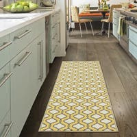 Ottomanson Studio Collection Trellis Design Runner Rug, - 1'8 x 4'11
