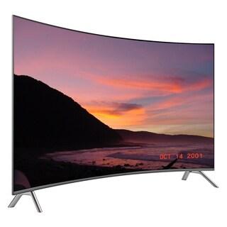 Refurbished Samsung 65 in 4K Curved Premium UHD Smart LED-UN65MU850DFXZA - Black