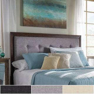Maxwell Wood and Tufted Linen Headboard by iNSPIRE Q Classic|https://ak1.ostkcdn.com/images/products/18214798/P24357151.jpg?impolicy=medium