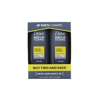Dove Men + Care Fresh Awake 13.5-ounce Body and Face Wash (Pack of 2)