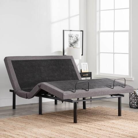LUCID Comfort Collection L300 Adjustable Bed Base