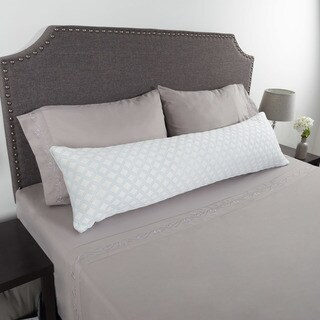 Windsor Home Memory Foam Body Pillow with Stay Cool Cover