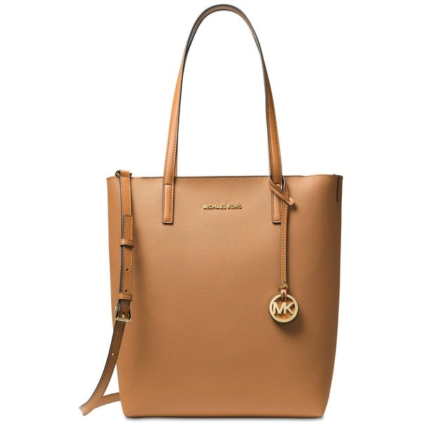 f7412271086b MICHAEL Michael Kors Hayley Large North South Top-Zip Tote Acorn Oyster