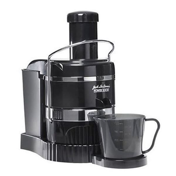Refurbished Jack Lalanne Juicer 3600 RPM Black And Stainless Steel-MT10001