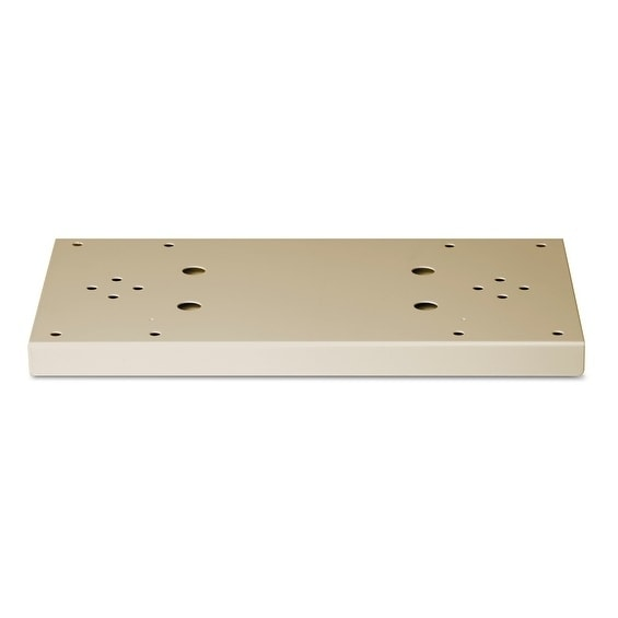Architectural Mailboxes Decorative Aluminum Post Side Support Bracket in Sand