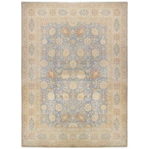 Wool Tabriz Rug (11'9'' x 15'8'') - 12' x 16'