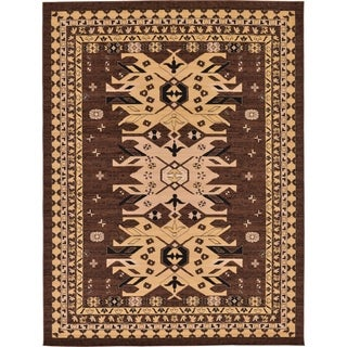 Heriz Grey and Beige Floral Area Rug (9' x 12')