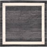 Unique Loom Maria Del Mar Square Rug - 8' 0 x 8' 0