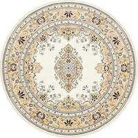 Unique Loom Windsor Narenj Round Rug - 10' x 10'