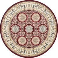 Unique Loom Brighton Nain Design Round Rug - 10' x 10'