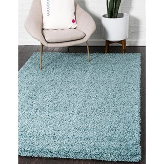 Unique Loom Solid Shag Area Rug - 10' x 13' (4 options available)