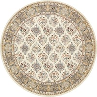 Unique Loom Sheffield Narenj Round Rug - 10' x 10'