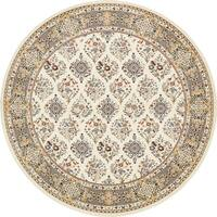 Unique Loom Sheffield Nain Design Round Rug - 10' x 10'