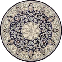 Unique Loom Newcastle Nain Design Round Rug - 10' x 10'