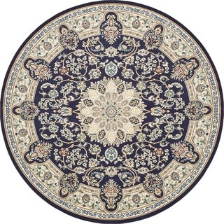 Unique Loom Newcastle Narenj Round Rug - 10' x 10'