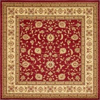 Unique Loom St. Louis Voyage Square Rug - 10' x 10'