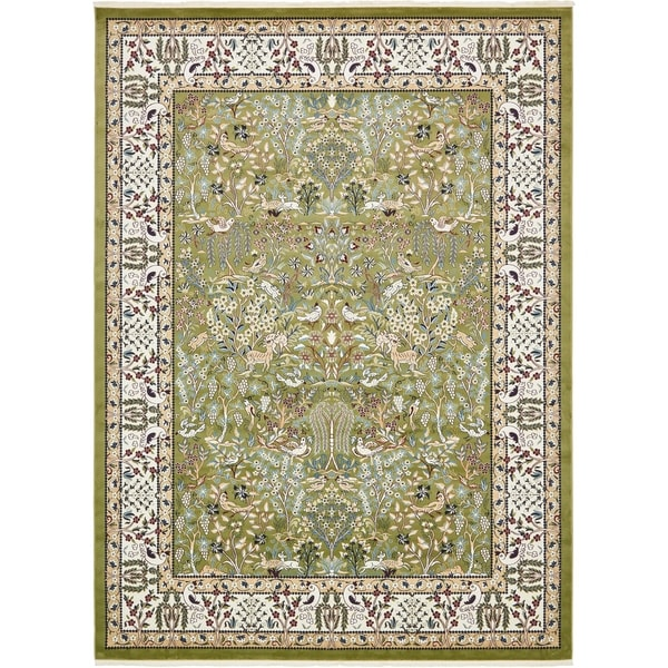Shop Unique Loom Bristol Narenj Area Rug 10 X 13 On