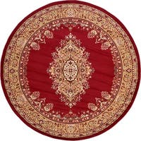 Unique Loom Washington Reza Round Rug - 8' Round