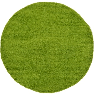 Solid Shag Pure Indoor/Outdoor Round Rug (8'2 x 8'2)