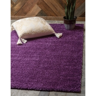 Turkish Solo Frieze Solid Area Rug (10' x 13')