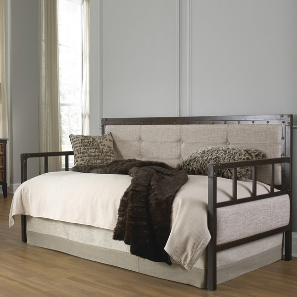 Shop Fashion Bed Group Gotham Daybed W Euro Deck And Pop