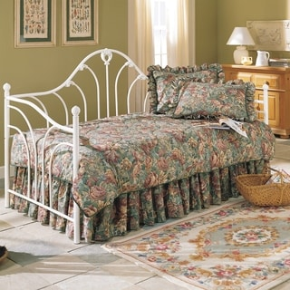 Fashion Bed Group Emma White Metal Daybed