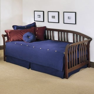 Fashion Bed Group Salem Brown Wood Trundle Daybed