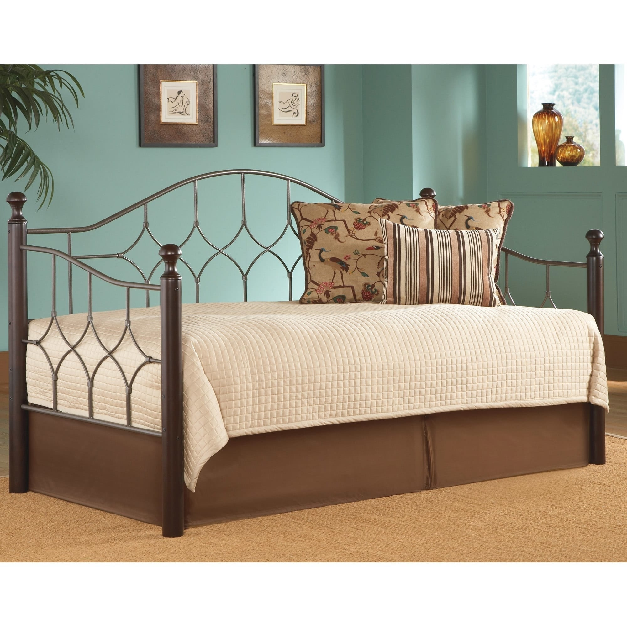 Leggett & Platt Bianca Daybed w/ Euro Deck and Pop-Up Trundle