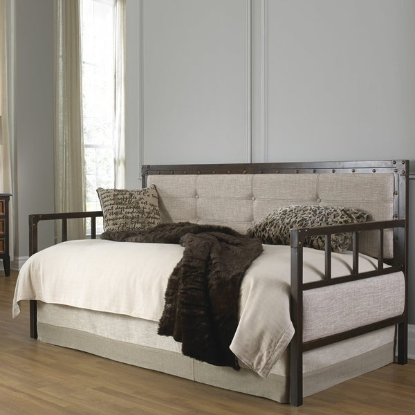 Shop Fashion Bed Group Gotham Daybed W Link Spring And Pop Up