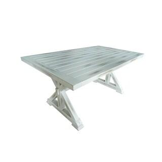 """Arles 63"""" Aluminum Dining Table"""