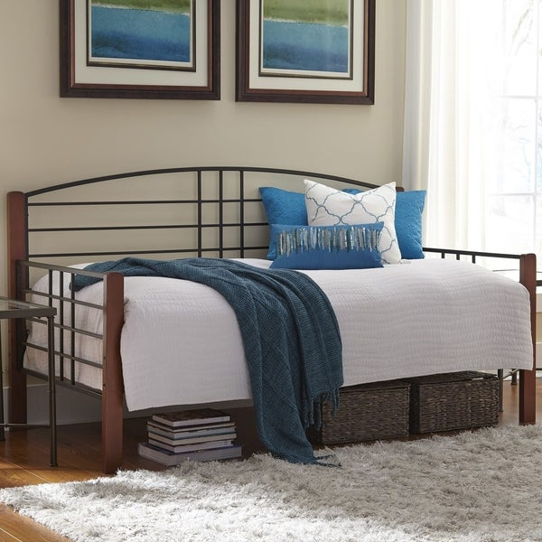 Shop Fashion Bed Group Dayton Daybed W Link Spring And