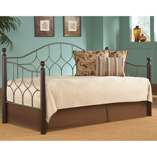 Bianca Complete Metal Daybed With Arched Back Panel & Euro Deck