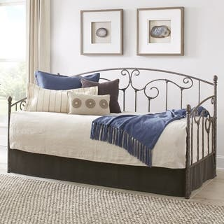 Fashion Bed Group Hinsdale Carbon Steel Daybed With Sloping Rails & Vertical Spindles https://ak1.ostkcdn.com/images/products/18215427/P24357603.jpg?impolicy=medium