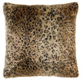 Leopard Faux Fur Pillow