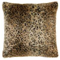 Leopard Faux Fur Pillow