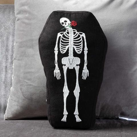 Day of the Dead Decorative Throw Pillow Plush Toy