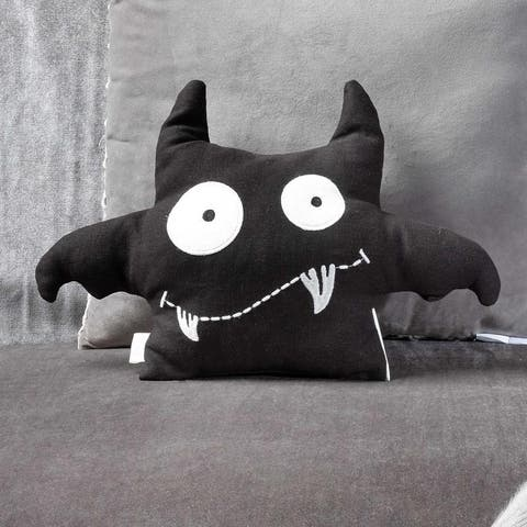 Bat Crazy Decorative Throw Pillow Plush Toy