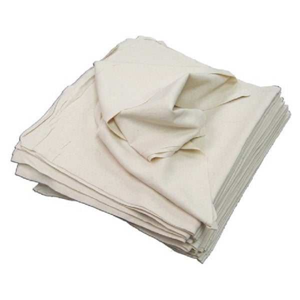 Craft Basics 50-Pack Soft White Cotton Flour Sack Towel