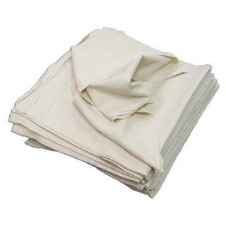 Craft Basics 50-Pack Soft White Cotton Flour Sack Towel