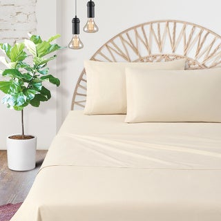 Certified Organic Cotton Percale 200 Thread Count Sheet Set